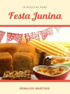 cover image of 10 Receitas para festa junina