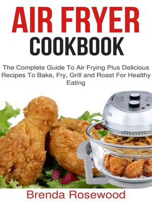 cover image of Air Fryer Cookbook