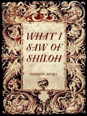 cover image of What I Saw of Shiloh