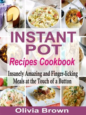 cover image of Instant Pot Recipes Cookbook