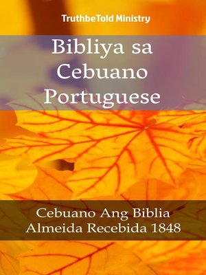 cover image of Bibliya sa Cebuano Portuguese