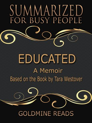 cover image of Educated - Summarized for Busy People