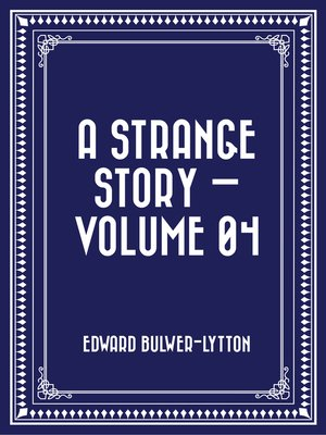 cover image of A Strange Story — Volume 04