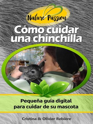 cover image of Cómo cuidar una chinchilla