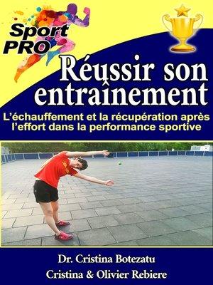 cover image of Réussir son entraînement