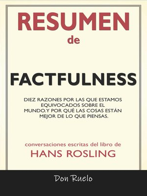 cover image of Resumen de Factfulness