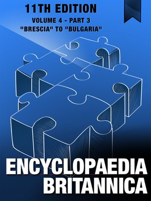 cover image of Encyclopaedia Britannica