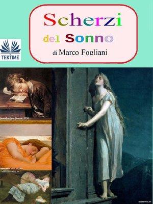 cover image of Scherzi Del Sonno