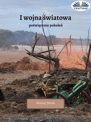 cover image of I Wojna Światowa