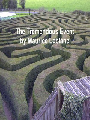cover image of The Tremendous Event