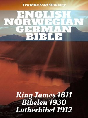 cover image of English Norwegian German Bible
