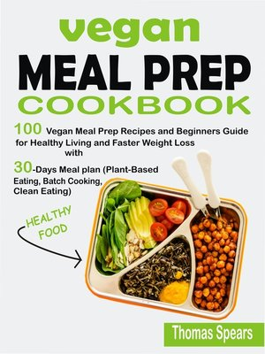 cover image of Vegan Meal Prep Cookbook