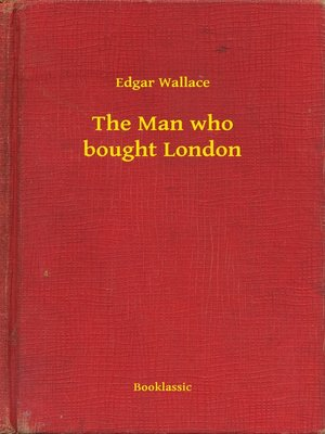 cover image of The Man who bought London