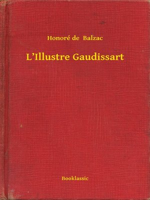 cover image of L'Illustre Gaudissart