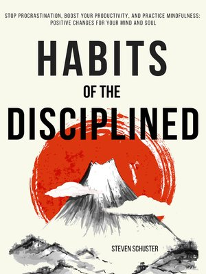cover image of Habits of the Disciplined
