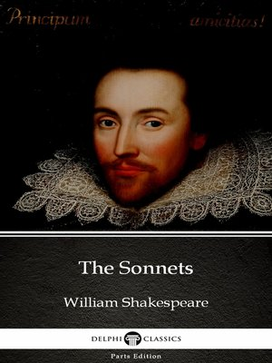 cover image of The Sonnets by William Shakespeare