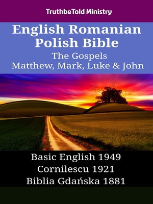 cover image of English Romanian Polish Bible - The Gospels - Matthew, Mark, Luke & John