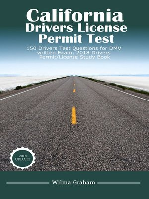 cover image of California Drivers License Permit Test Questions