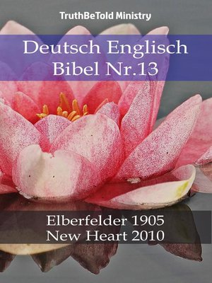 cover image of Deutsch Englisch Bibel Nr.13