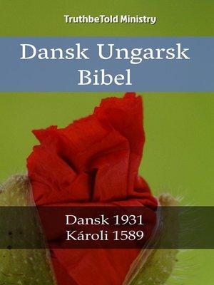 cover image of Dansk Ungarsk Bibel