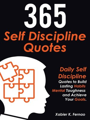 cover image of 365 Self Discipline Quotes
