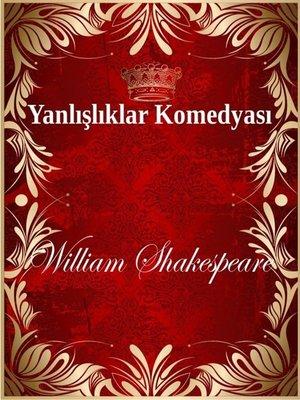 cover image of Yanlışlıklar Komedyası
