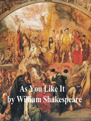 cover image of As You Like It, with line numbers