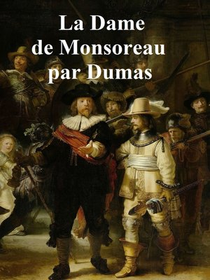cover image of La Dame de Monsoreau