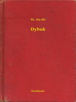 cover image of Dybuk