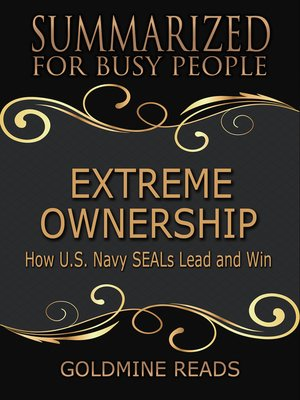 cover image of Extreme Ownership - Summarized for Busy People
