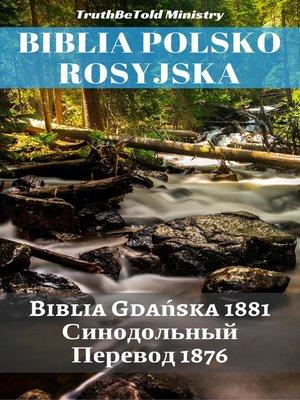 cover image of Biblia Polsko Rosyjska