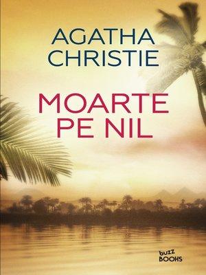 cover image of Moarte Pe Nil