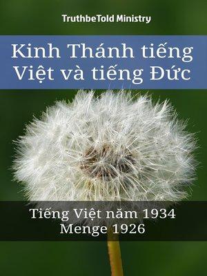 cover image of Kinh Thánh tiếng Việt và tiếng Đức
