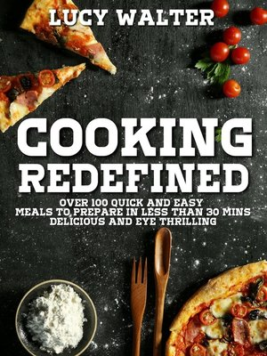 cover image of Cooking Redefined