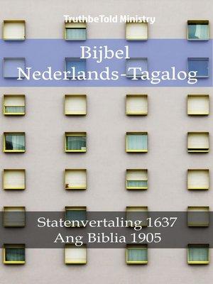 cover image of Bijbel Nederlands-Tagalog