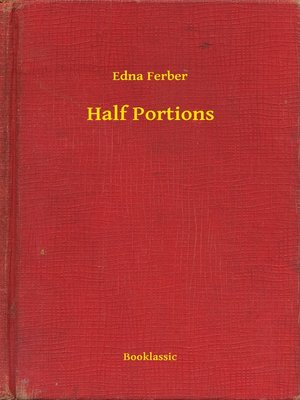 cover image of Half Portions