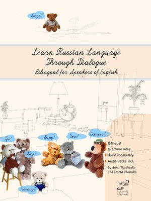 cover image of Learn Russian Language Through Dialogue