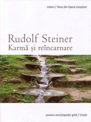 cover image of Karmă și reîncarnare
