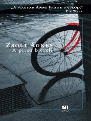 cover image of A piros bicikli