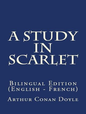 cover image of A Study In Scarlet