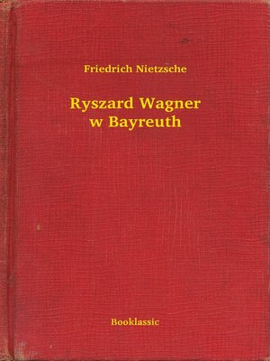 cover image of Ryszard Wagner w Bayreuth