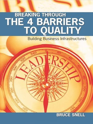 cover image of Breaking Through the 4 Barriers to Quality