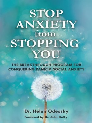 cover image of STOP ANXIETY from STOPPING YOU
