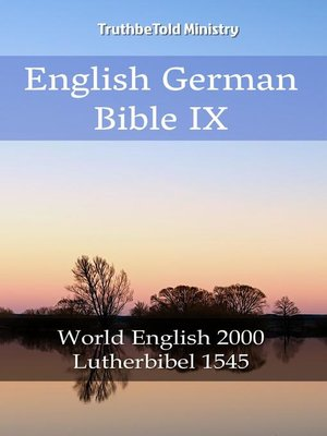 cover image of English German Bible IX