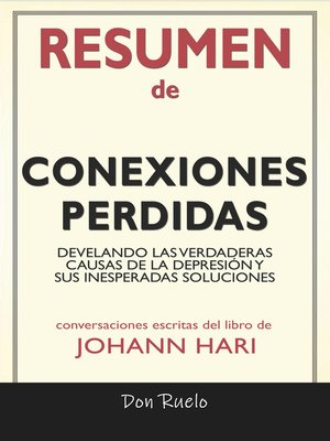 cover image of Resumen de Conexiones Perdidas
