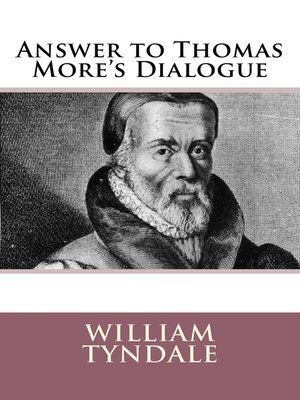 cover image of Answer to Thomas More