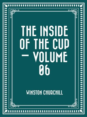cover image of The Inside of the Cup — Volume 06