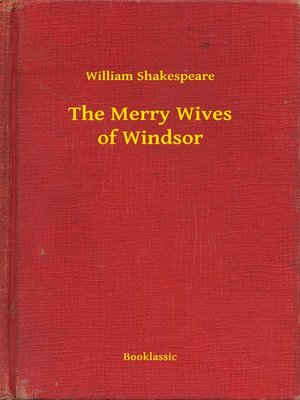 cover image of The Merry Wives of Windsor