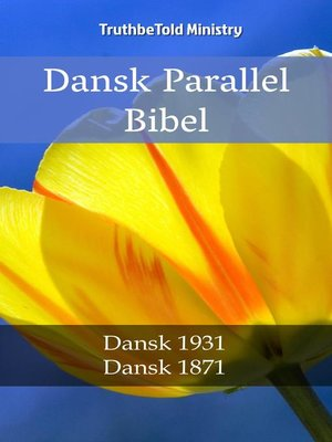 cover image of Dansk Parallel Bibel