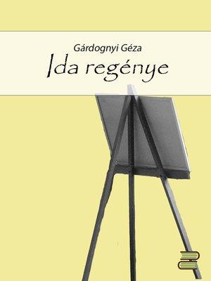 cover image of Ida regénye